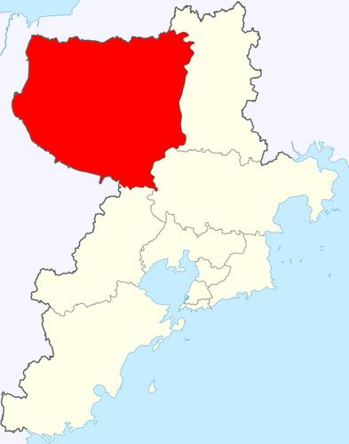 平度在青岛市的位置